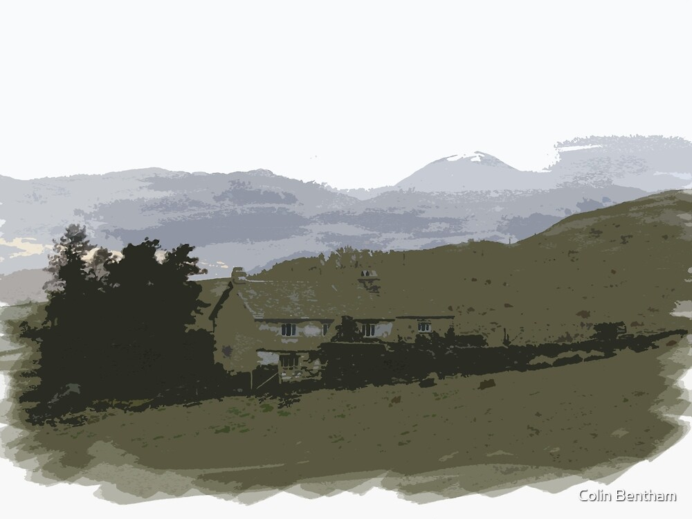 Lake district Cottage by Colin Bentham