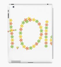 St Olaf College floral print iPad Case/Skin
