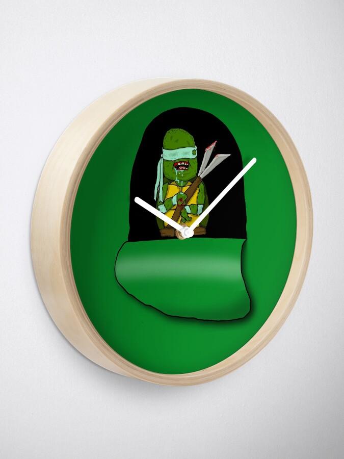 Alternative Ansicht von Unreife giftige Karate-Terdle Uhr
