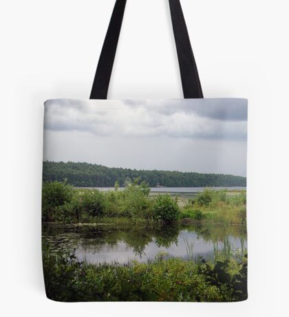 Marshes By The Lake Tote Bag