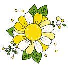 Yellow Daisies by TwinPowerTammy
