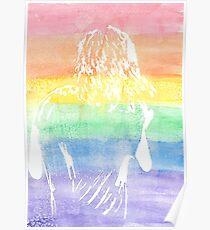 Regenbogen Harry Styles Poster