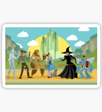 wizard of oz characters Sticker
