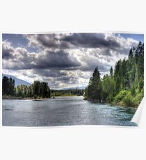 Wide Flathead River Poster