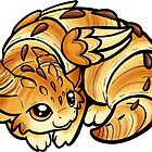 Croissant Dragon by Rebecca Golins