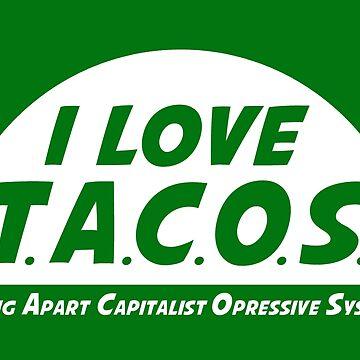 I LOVE TACOS by oriana132