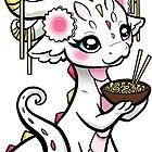 Noodle Geisha Dragon by Rebecca Golins