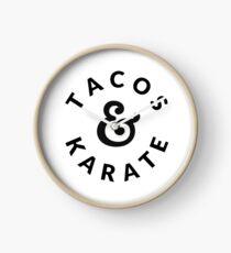 Tacos & Karate Clock
