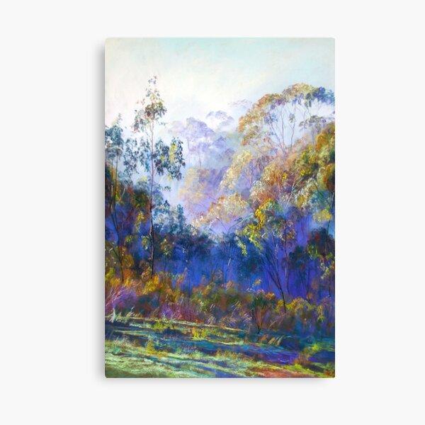 Winter Blues - (Near Seymour, Victoria) Canvas Print