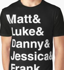 The Defenders + Frank Graphic T-Shirt