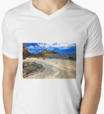 Castaway Island Men's V-Neck T-Shirt