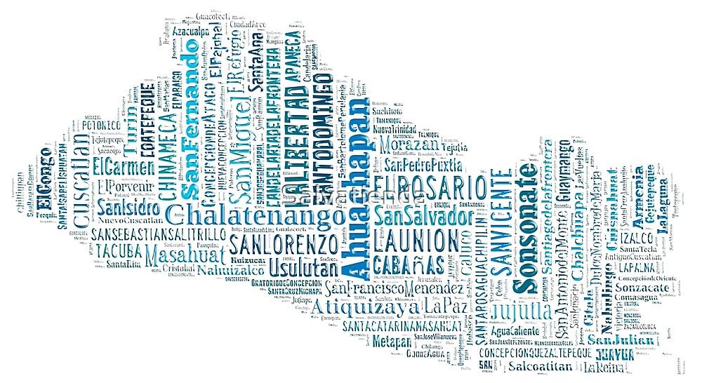 El Salvador mapa-ciudades by Salvatienda
