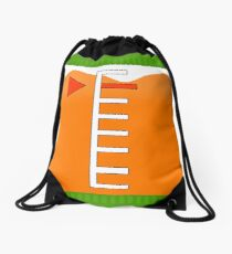 Orange Ink Tank | Splatoon Drawstring Bag