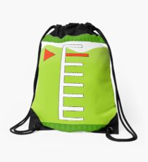 Lime Green Ink Tank | Splatoon Drawstring Bag