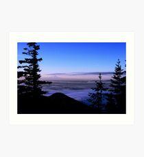 Mt. Ranier View Art Print