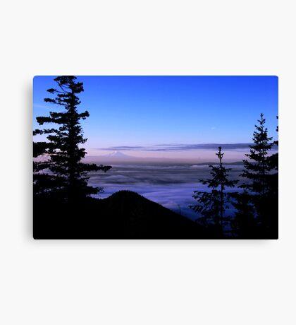 Mt. Ranier View Canvas Print