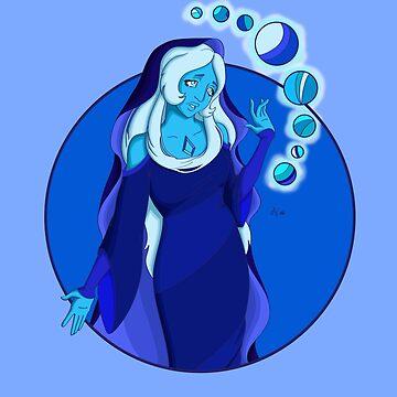 Blue Diamond by AthenaVictoria