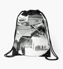 In The Neck of Time Drawstring Bag