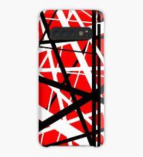Frankenstein-Muster (rot) Hülle & Klebefolie für Samsung Galaxy