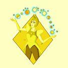 Yellow Diamond by AthenaVictoria