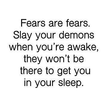 fears are fears by scrambledtofu