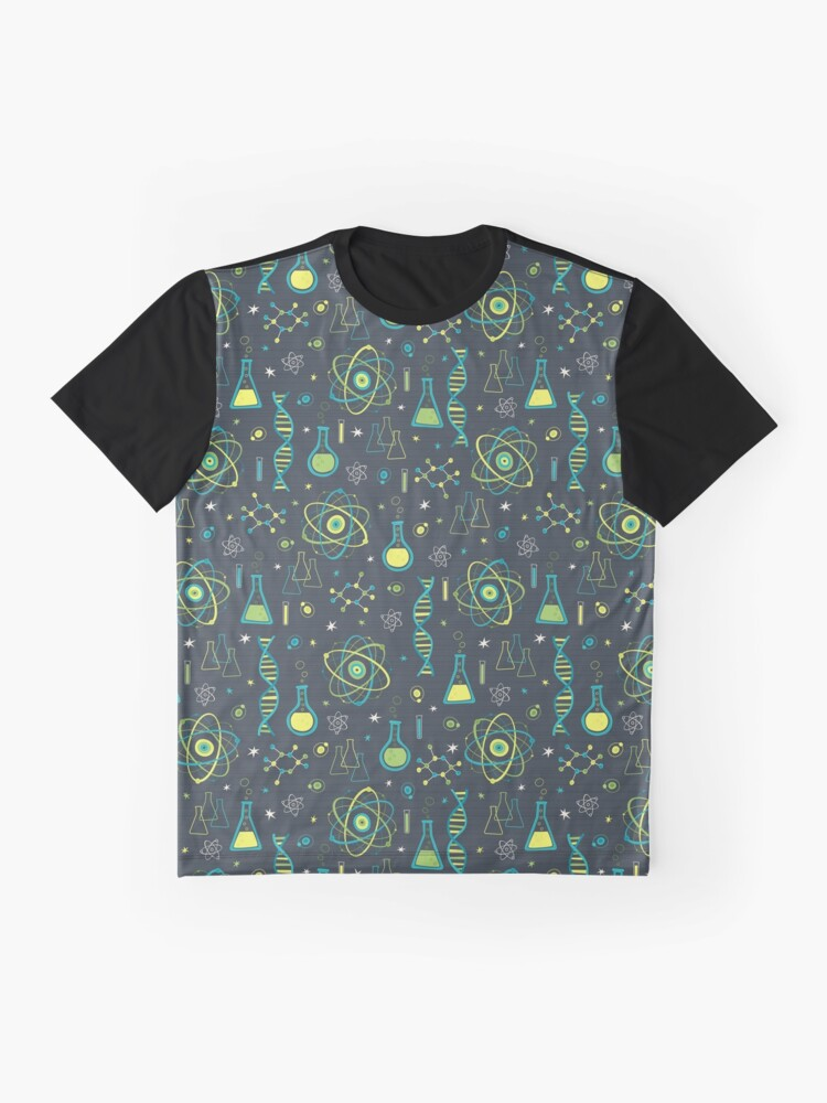 Alternate view of Midcentury Modern Science Graphic T-Shirt