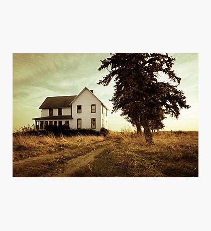 Autumn Abandonment Photographic Print