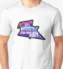 Ninja Sex Party - Retro Unisex T-Shirt
