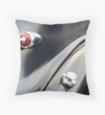 Black Curves Throw Pillow
