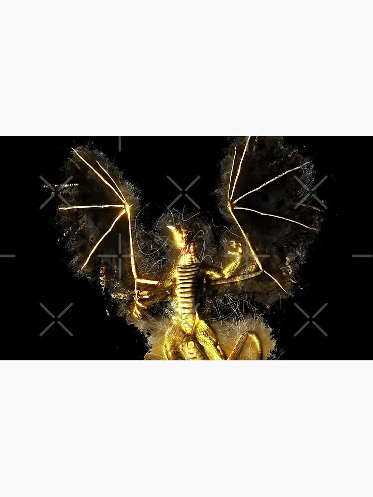 Dragon wyrm glowing Art von VincentW91