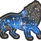 Leo Zodiac Sign | Galaxy by Daniel Watts