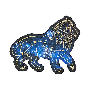Leo Zodiac Sign | Galaxy by DanJohnDesign