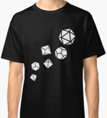 Polyhedral Dice of The Game Master Tabletop RPG Gaming Classic T-Shirt