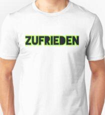 zufrieden Unisex T-Shirt
