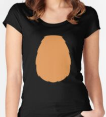 Reindeer Costume - Red nose Rudolph Christmas Women's Fitted Scoop T-Shirt