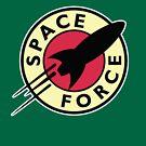«SPACE FORCE PLANET EXPRESS FUTURAMA» de w1ckerman
