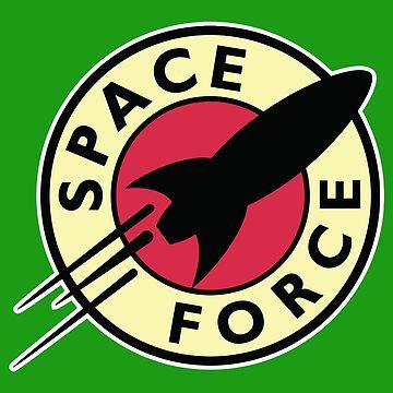 SPACE FORCE PLANET EXPRESS FUTURAMA by w1ckerman