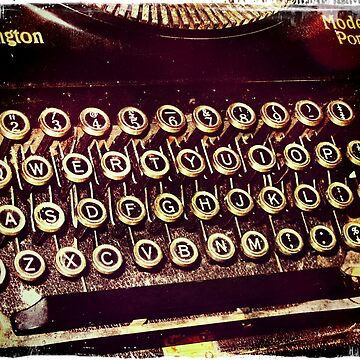 Enigma - Typewriter IV by MagpieMagic