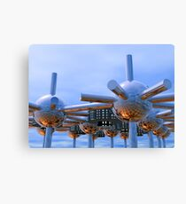 Modular City Canvas Print