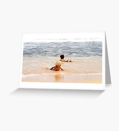 Beach Joy Greeting Card