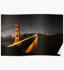 Photo Cityscape Wallpaper Golden Gate Bridge Poster