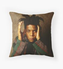 Basquiat Throw Pillow