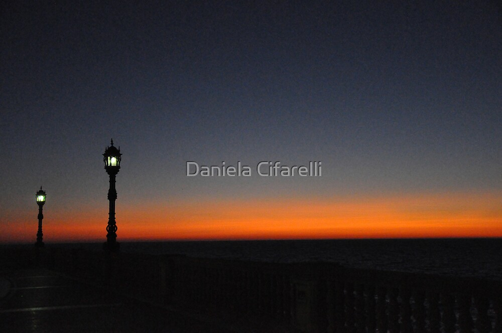 Twilight at CADIZ # 3 by Daniela Cifarelli
