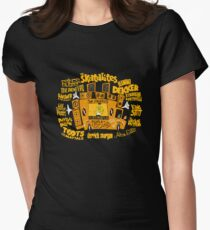 Jamaican Mobile Sound Sytem Women's Fitted T-Shirt
