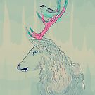 dreamy deer by roxycolor