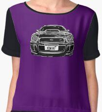 Subaru WRX Impreza Chiffon Top