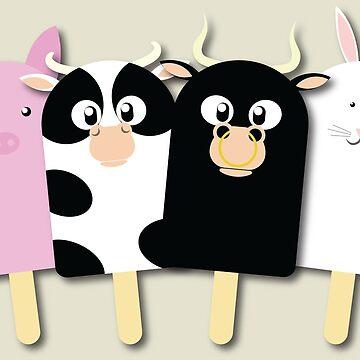 Animal Farm Popsicle by EyeSeeMS