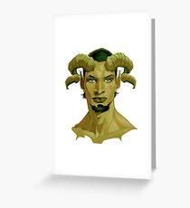 Demon series 05 Greeting Card