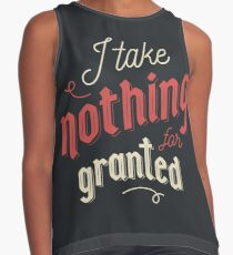 Nothing for granted Contrast Tank