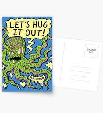 Lets Hug It Out Postcards